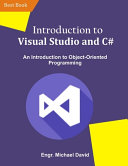 Introduction to Visual Studio and C  PDF