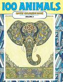 Adult Coloring Book Volume 2   100 Animals PDF
