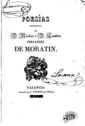 Poesías escogidas de D. Nicolas y D. Leandro Fernandez de Moratin