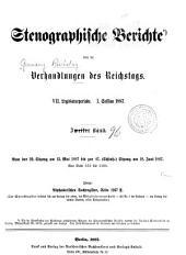 Verhandlungen des Reichstags: Band 96