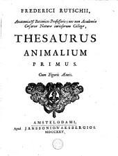 Thesaurus animalium: Volume 1