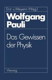 Wolfgang Pauli: Das Gewissen der Physik
