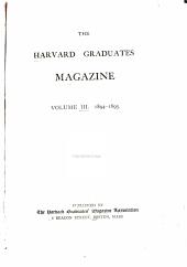 The Harvard Graduates  Magazine PDF