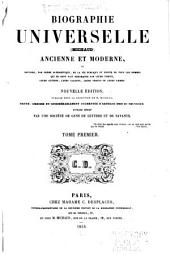 Biographie universelle (Michaud) ancienne et moderne ...