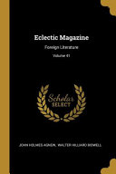 Download Eclectic Magazine Book