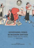 Governing Risks in Modern Britain PDF