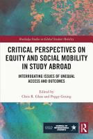 Critical Perspectives on Equity and Social Mobility in Study Abroad PDF