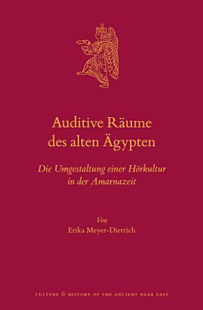 Auditive R  ume des alten   gypten PDF