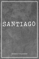 Santiago Weekly Planner