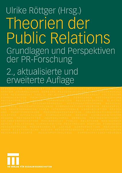 Theorien der Public Relations PDF