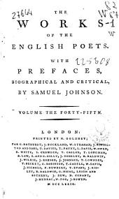 The Works of the English Poets: Volume 26