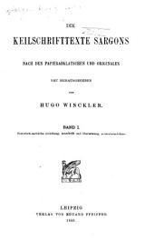 Historisch-sachliche einleitung, umschrift und ūbersetzung, wörterverzeichnis