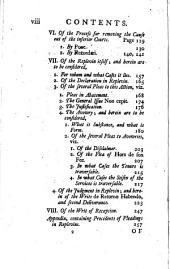 The Law of Distresses and Replevins, Delineated: Wherein the Whole Law Under Those Heads is Considered : what Things May, Or May Not be Distrained : and the Regular Method to be Pursued in Suing Out Replevins, &c. Agreeable to the Present Practice : with Many References to the Best Authorities