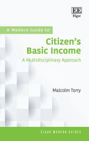 A Modern Guide to Citizen   s Basic Income   a Multidisciplinary Approach