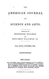 The American Journal of Science and Arts: Volume 47
