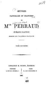 Oeuvres pastorales et oratoires: Volume2