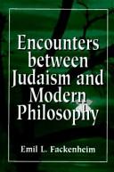 Encounters Between Judaism and Modern Philosophy PDF
