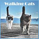 Walking Cats 2021 Wall Calendar