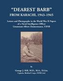 Dearest Barb  From Karachi  1943 1945