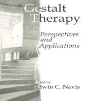 Gestalt Therapy PDF