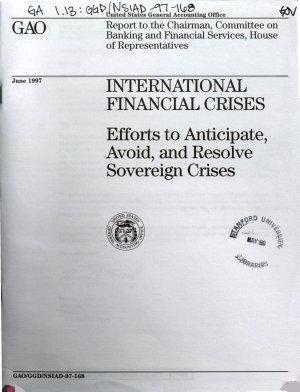 International Financial Crises PDF