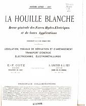 La Houille blanche: Volume6