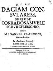 Dacia consularis