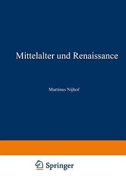 Mittelalter und Renaissance II PDF