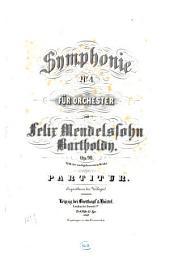 Symphonie Nr. 4: op. 90 : (Nr. 19 d. nachgelassenen Werke)