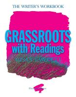 Grassroots with Readings  The Writer s Workbook PDF