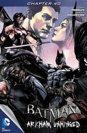Batman: Arkham Unhinged #40
