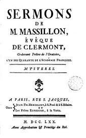 Sermons de M. Massillon: mystères