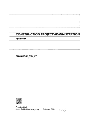 Construction Project Administration PDF