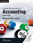 Cambridge International AS Level Accounting PDF