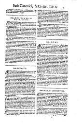 D. Augustini Barbosae ... Repertorium Juris civilis et canonici: in quo alphabetico ordine ... utriusque juris conclusiones collectae indicantur ... : opus posthumum