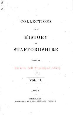 Collections for a History of Staffordshire PDF