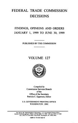 Federal Trade Commission Decisions PDF