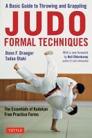 Judo Formal Techniques PDF