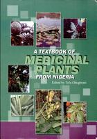 A Textbook of Medicinal Plants from Nigeria PDF