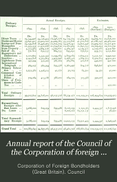 Annual Report of the Council of the Corporation of Foreign Bondholders: Volume 27
