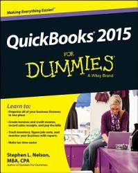 Quickbooks 2015 For Dummies Book PDF