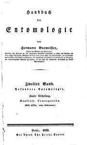 Handbuch der Entomologie PDF