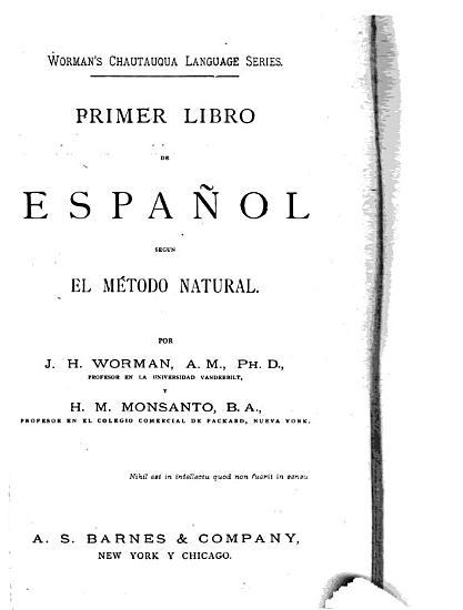 Primero libro de espa  ol segun el m  todo natural PDF