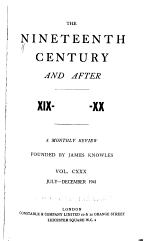 The Nineteenth Century and After