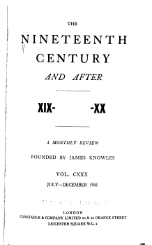 The Nineteenth Century and After PDF