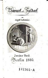 Barneck und Saldorf. - Berlin 1805