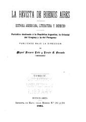 La Revista de Buenos Aires: historia americana, literatura y derecho