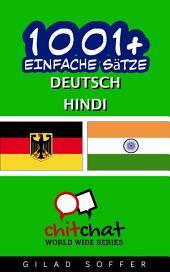 1001+ Einfache Sätze Deutsch - Hindi