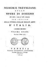 Memorie Trevigiane sulle Opere di Disegno