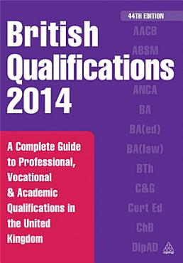 British Qualifications 2014 PDF